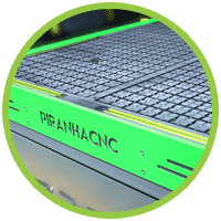 Piranha Pro CNC Router Machine Bed