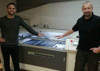Piranha PJH1390 Laser Machine