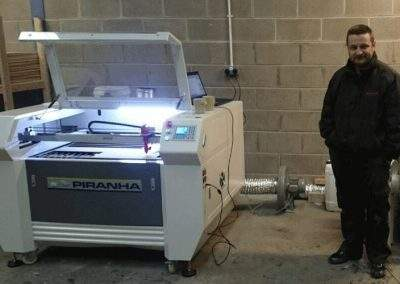 Piranha PJH1060 Laser Machine