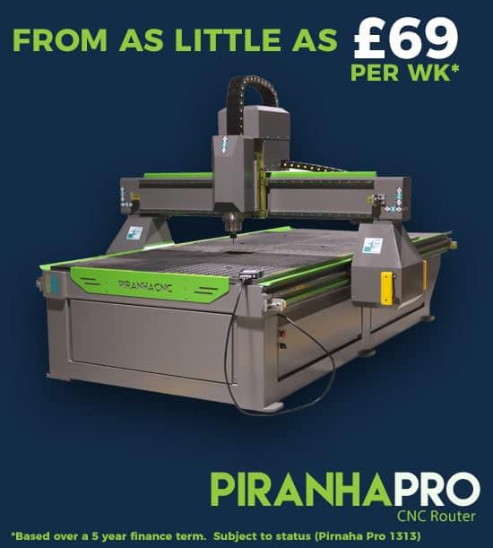 Piranha Pro CNC Router Machine