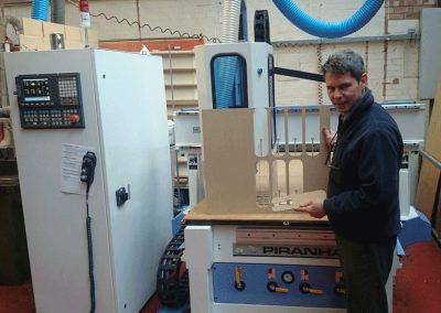 Piranha 1325 Automatic Tool Change CNC Router