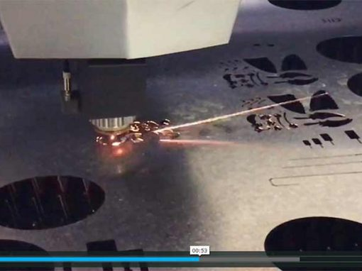 Fibre Laser Cutting Stainless Steel