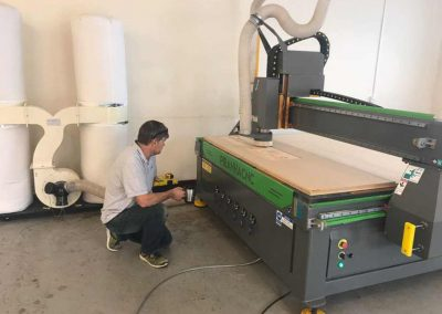 Carpentry Plus Piranha 2030 CNC Router Install 2