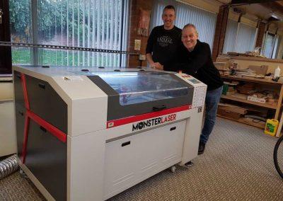 Monster 1390 Laser Engraver Install
