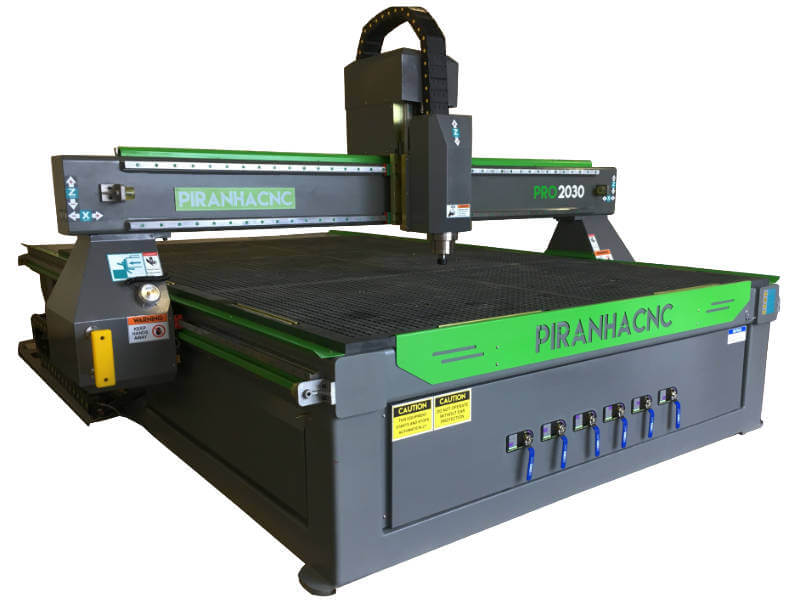 Piranha ATC CNC Routers
